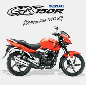 suzuki motorcycle - gs150r in india competing hunk, unicorn