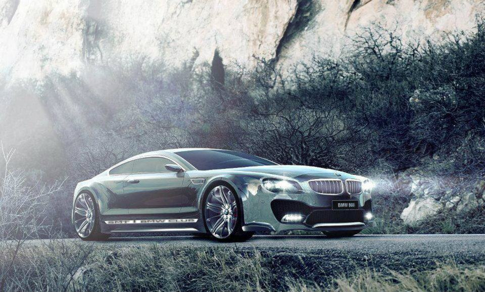 Stunning Pictures Of Bmw 8 Series Concept Design