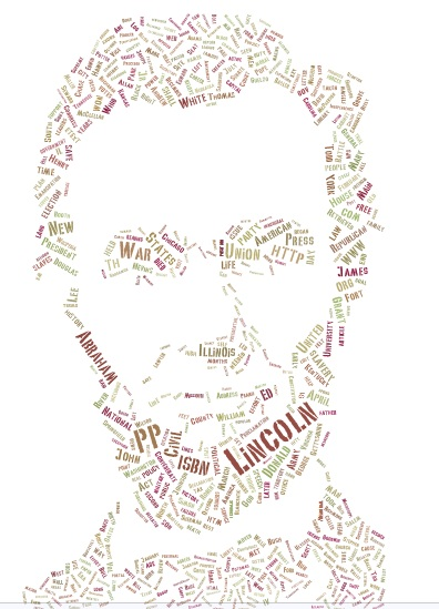 Lincoln word cloud