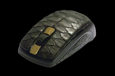 Python Leather Mouse - $17,840
