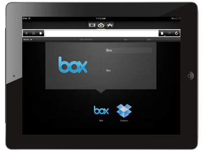 CloudOn application for iPad