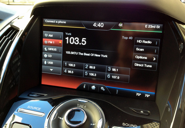 ford escape 2013 car 4 The new Ford Escape car can be controlled using voice commands