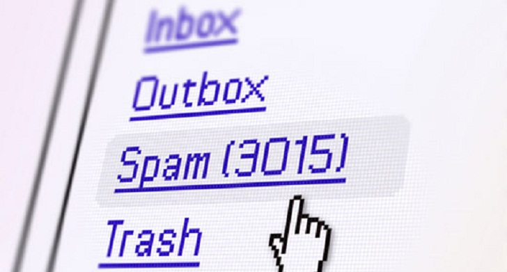 Nearly 9.3 percent of spams are from India