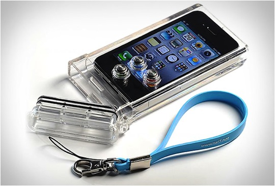 Tat7 iphone scuba case well designed for the underwater photography