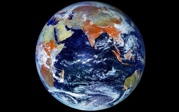 The largest single shot photo of Earth :121 Megapixel ...