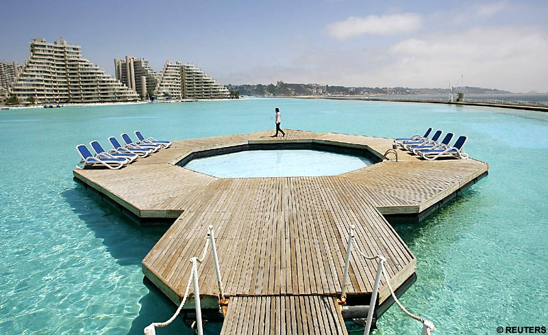 Largest Pool In Chile >> San Alfonso Del Mar Resort In Chile Has The Largest Swimming