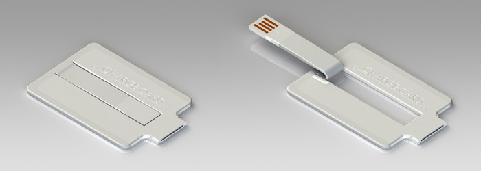 This USB charger is just 2.54mm thickness
