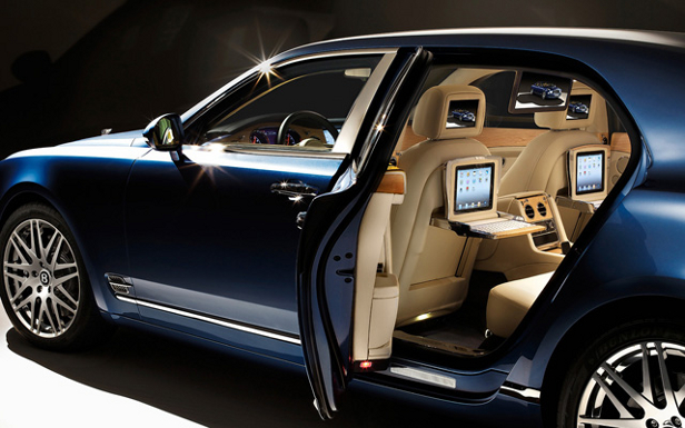 bentley announces mulsanne executive car with gaming ipad built in wi fi techglimpse. Black Bedroom Furniture Sets. Home Design Ideas
