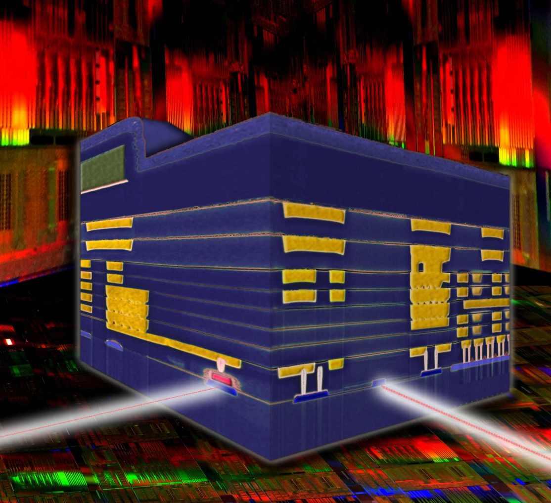 IBM Silicon Nanophotonics chip