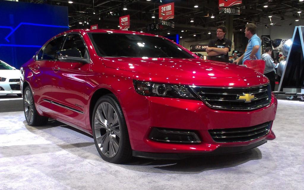 Chevrolet shows-off smartphone-inspired MyLink ...
