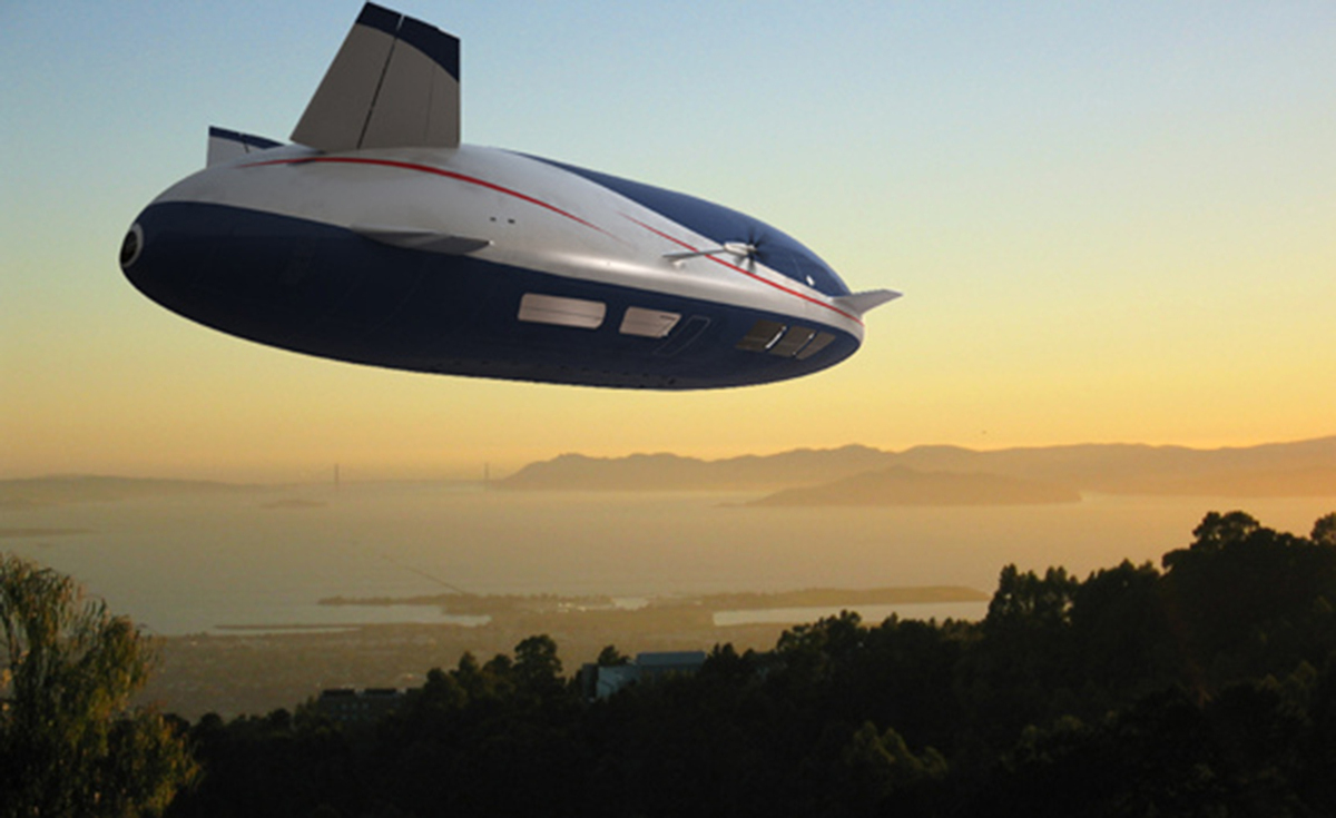 The Gigantic Aeroscraft Airship Is Ready Ground Tests