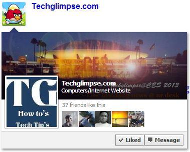 facebook like popover information