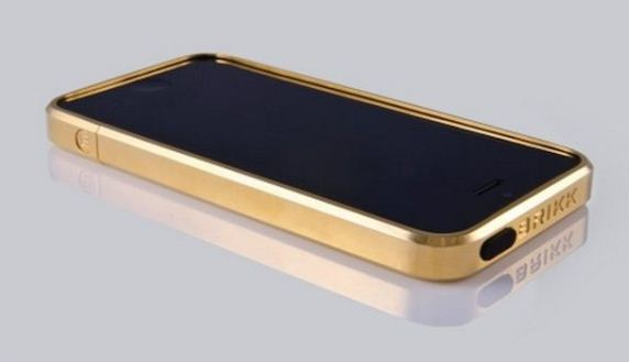 Brikk Gold Plated IPhone Case