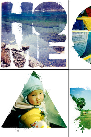 Add Shapes to your cropped photos using SymbolGram iOS app - Techglimpse