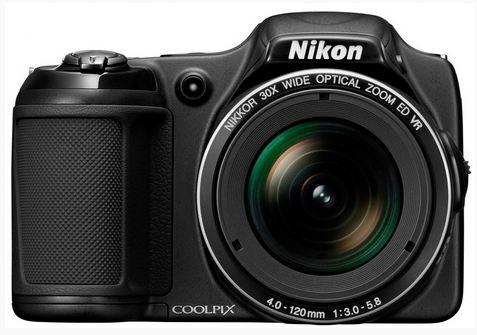 Nikon L820 Coolpix camera