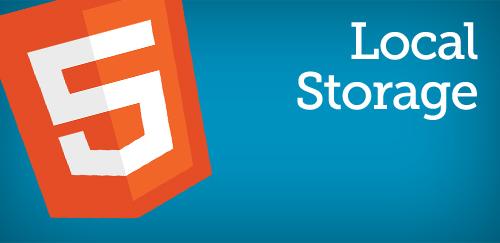 HTML5 localstorage