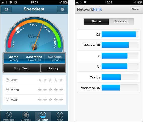 OpenSignal For IPhone Maps Out Signal Strength Of Cellular And WiFi - Cellular signal strength map