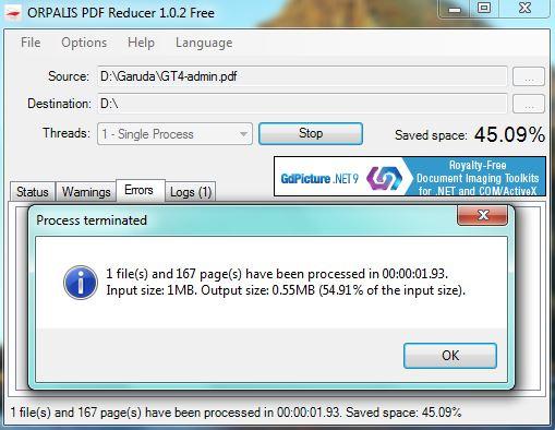 ORPALIS PDF Compressor