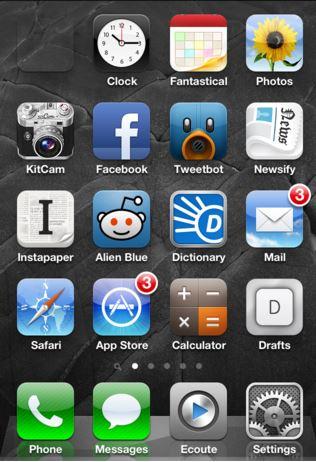 easily add transparent icons to ios home screen no