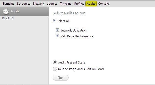 Chrome Audit Tool