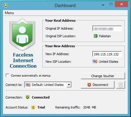 Faceless ME keeps your online presence safe and secure