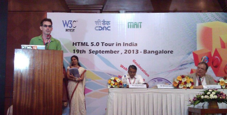 HTML 5 Tour in India