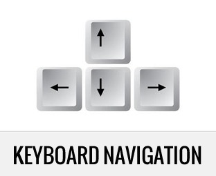How to Add Keyboard Navigation to your WordPress powered website