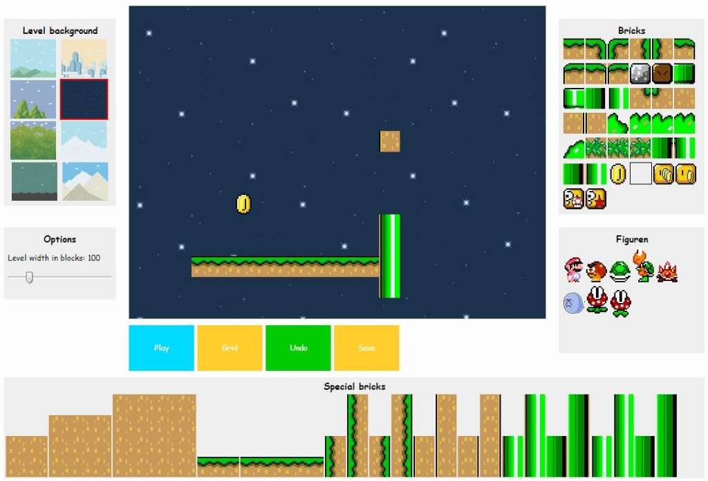 Super Mario Online Version Powered By Html5 Techglimpse