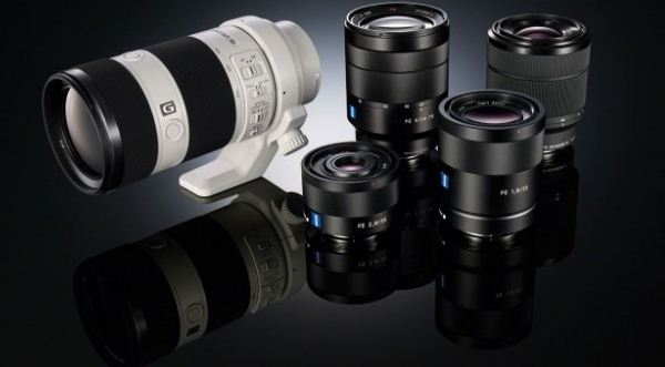 Sony Mirrorless interchangeable lens