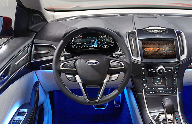 Ford Edge Concept Is Now Out Check It Out