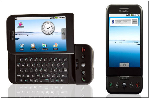 First Android Phone- HTC Dream
