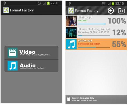 Converting Video and Music Files on Android is now made