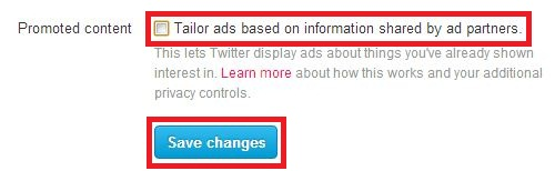 Opt Out of Twitter's Promoted Content