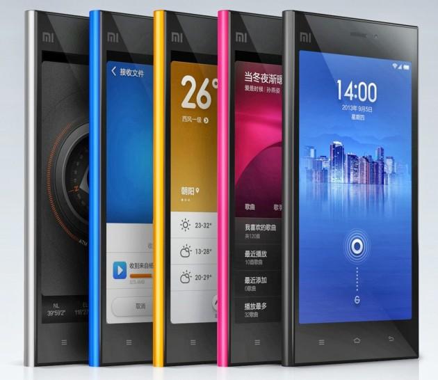 Xiaomi Mi3 colors