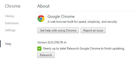 Why Google Chrome Pop-up crashes while using scroll bar and
