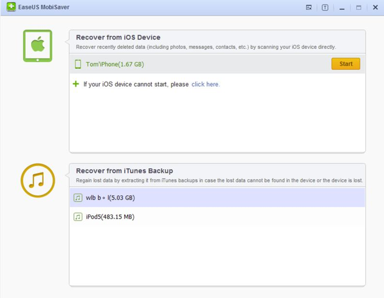 EaseUS MobiSaver eases the data recovery problems on your iOS device -  Techglimpse