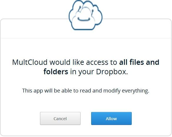 Access multiple cloud drives
