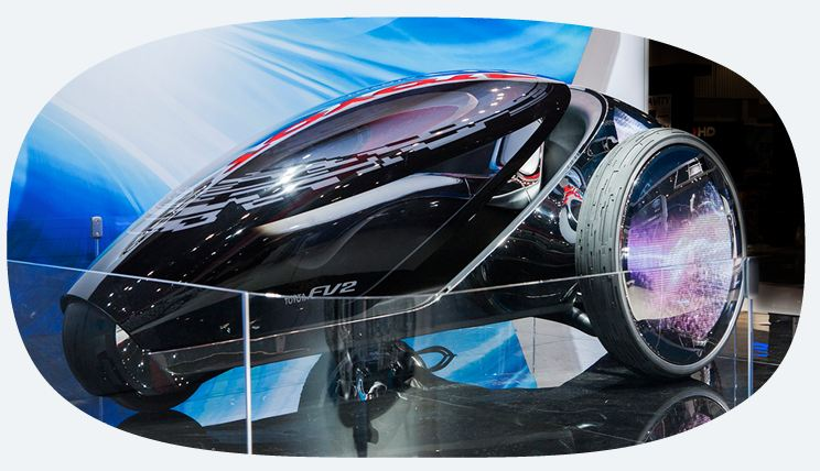 Toyota FV2 concept Car