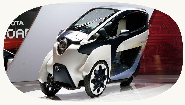 i-ROAD electric car