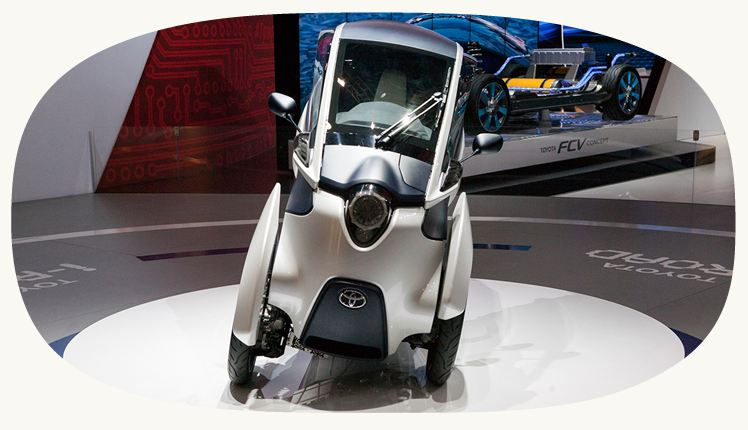 iROAD battery car