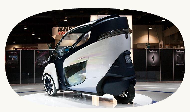 iROAD electric car
