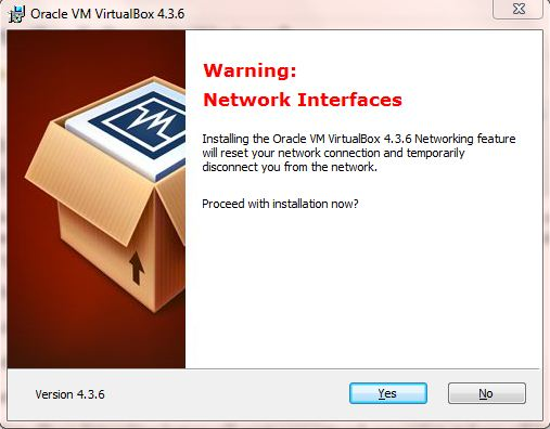 VirtualBox Networking support