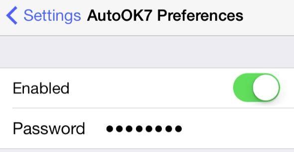 AutoOK7 cydia app