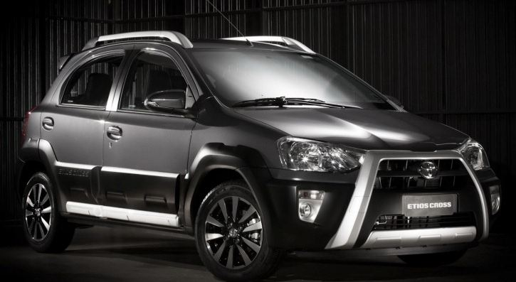Toyota Shows Off Etios Cross During Indian Auto Expo 2014