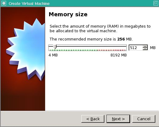RAM limit in VM