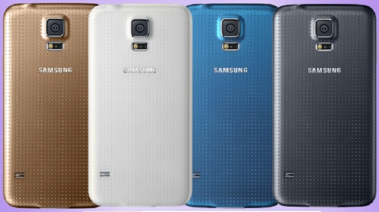Galaxy S5 color options