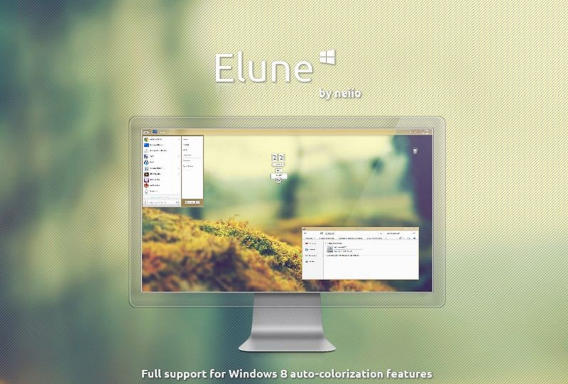 how to theme your windows 8 desktop and 30 beautiful