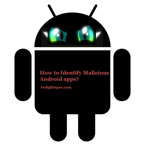 Identify malware apps