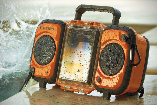 water proof stereo set