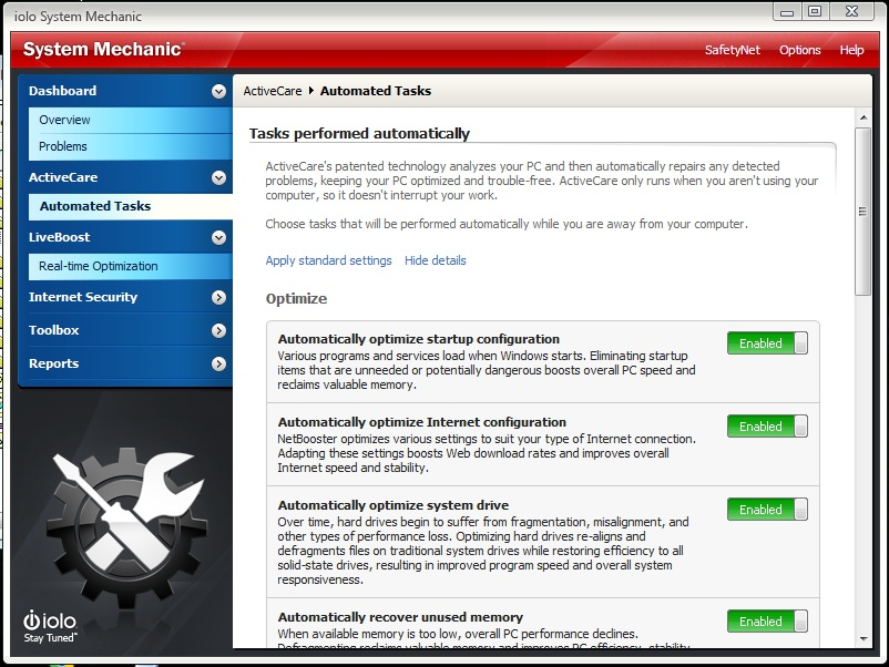 Iolo System Mechanic An All In One Tool For Pc Analysis